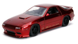 Mazda RX-7 FC Tuning 1985-1991 RHD dunkelrot met.