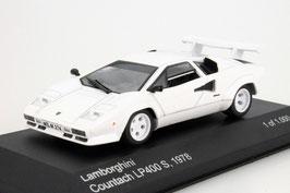 Lamborghini Countach LP400 S 1978-1982 weiss