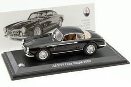 Maserati A6G / 54 Frua 2000 Coupé 1954-1955 schwarz