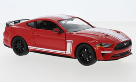 Ford Mustang VI GT Phase II seit 2018 rot / weiss