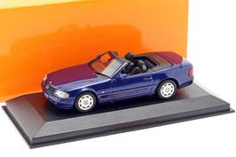 Mercedes-Benz SL-Klasse R129 Phase III 1998-2001 dunkelblau