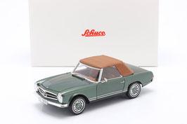 Mercedes-Benz 280 SL W113 1968-1971 grün met. / braun