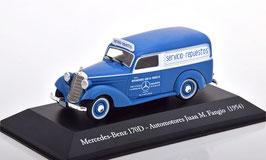 "Mercedes-Benz 170 D ""Automotores Juan M. Fangio 1954 blau / weiss"""