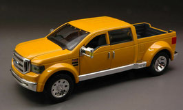 Ford F-350 Mighty Super Duty Concept Car 2002 gelb