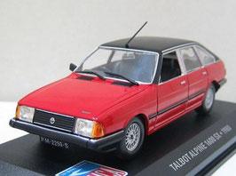 Talbot Alpine 1600 SX RHD 1980-1986 rot / schwarz