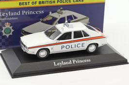 """Austin / Leyland Princess MK II 1978-1981 """"Staffordshire Police"""" RHD weiss"""