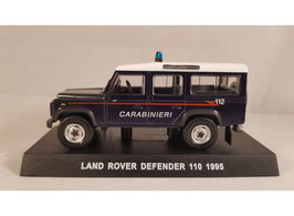 "Land Rover Defender 110 1995 Carabinieri dunkelblau / weiss"""