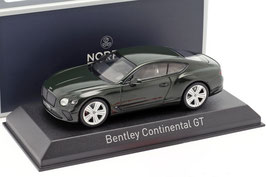 Bentley Continental GT seit 2018 dunkelgrün met.