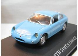 Simca Abarth 1300 GT 1962 blau