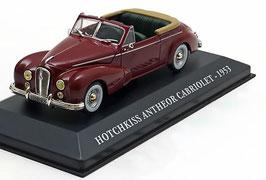 Hotchkiss Anthéor Cabriolet 1953 dunkelrot