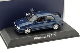 Renault 19 16S Phase II 1992-1995 dunkelblau met.