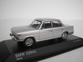 BMW 2000 A Typ 121 1966-1972 silber met.