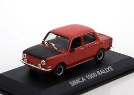 Simca 1000 Rallye 1 1970-1972 rot / matt-schwarz