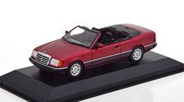 Mercedes-Benz 300 CE-24 Cabriolet A124 1991-1993 dunkelrot met.