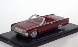 Lincoln Continental 53A Convertible 1961 dunkelrot