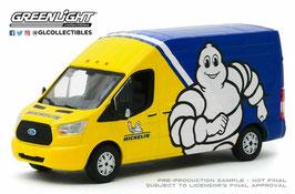 """Ford Transit LWB """"Michelin 2019 gelb / blau / weiss"""