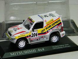 Mitsubishi Pajero 4x4 #206 Paris-Dakar 1998 J.P. Fontenay / G. Picard