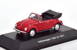 VW Käfer 1302 LS Cabriolet 1970-1972 rot