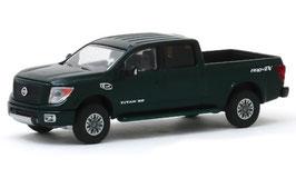 Nissan Titan Doka Pick Up H61 seit 2015 dunkelgrün met.