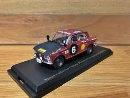 Nissan Bluebird #6 Rallye East Africa Safari 1966 dunkelrot / schwarz
