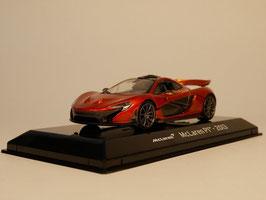 McLaren P1 2013-2015 dunkelorange met. / schwarz