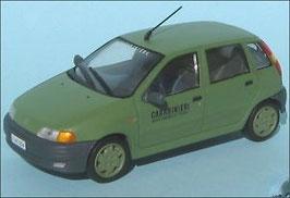 Fiat Punto 1993-1999 Carabineri grün