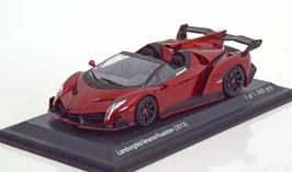 Lamborghini Veneno Roadster dunkelrot met.