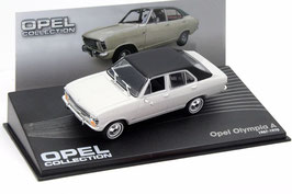 Opel Olympia A 1967-1970 weiss / schwarz