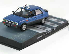 "Renault 11 Phase I 1983-1986 TAXI blau met. ""James Bond 007 Edition"""