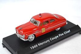 "Mercury Custom Coupé 1951 ""Fire Chieff"" rot"