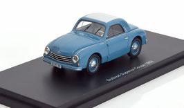 Gutbrod Superior Cabrio-Limousine 1950-1954 blau / hellgrau