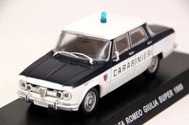 """Alfa Romeo Giulia Super 1.6 1969 """"Carabinieri weiss / dunkelblau"""""""