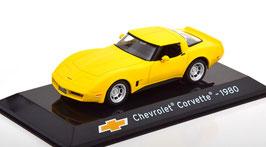 Chevrolet Corvette C3 Coupé Phase VI 1980-1982 gelb