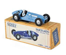 Talbot Lago T 26 C #24 Louis Rosier Grand Prix Belgien 1949 hellblau
