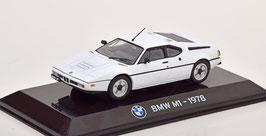 BMW M1 E26 1978-1981 weiss / schwarz