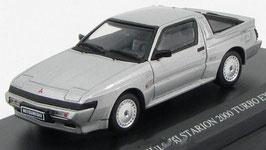 Mitsubishi Starion 2.0 Turbo EX Phase II  1987-1990 silber met.