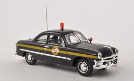 Ford Custom 2-Door 1950 Kentucky State Police schwarz / gürn