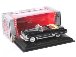 Cadillac Coupé De Ville Cabriolet 1949 schwarz / silber