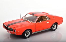 "AMC AMX Hardtop ""Emmings Muscle Machines 1969 Big Bad orange / schwarz"""