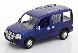 Fiat Doblo Malibu 2000-2005 dunkelblau met. / schwarz