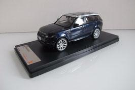 Range Rover Sport II seit 2014 dunkel blau met. / silber