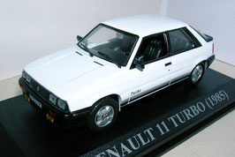 Renault 11 Turbo Phase I 1984-1986 weiss: