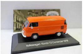 VW T2b Lieferwagen 1972-1979 orange / weiss