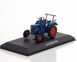 Lanz D 2016 Traktor 1955-1960 dunkelblau / rot