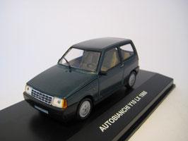 Autobianchi Y 10 LX Phase I 1985-1989 türkis met.
