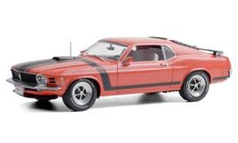 Ford Mustang Boss 302 1970 rot / matt-schwarz