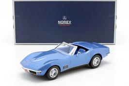 Chevrolet Corvette C3 Convertible 1967-1975 blau met.