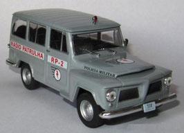 Jeep Willy Rural 1960-1972 Policia Militar Brasil grau