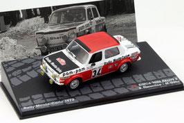 Simca 1000 Rallye 2 #34 Rallye Monte Carlo 1973 Fiorentino / Gelin