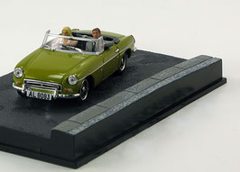 MG B Cabriolet MK III 1972-1974 senfgelb James Bond 007 Edition